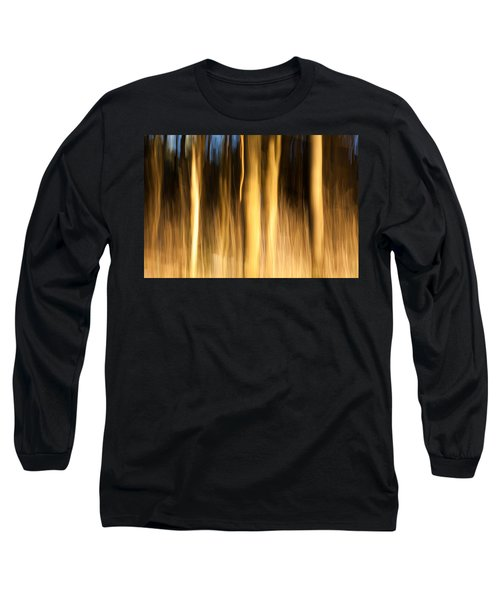 Long Sleeve T-Shirt featuring the photograph A Fiery Forest by Davorin Mance