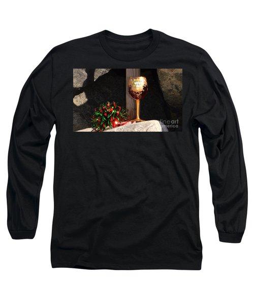 A Fine Beach Christmas Long Sleeve T-Shirt