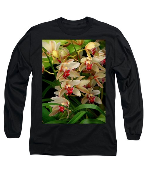 Long Sleeve T-Shirt featuring the photograph A Gathering by Rodney Lee Williams