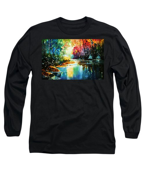 A Glow In The Forest Long Sleeve T-Shirt
