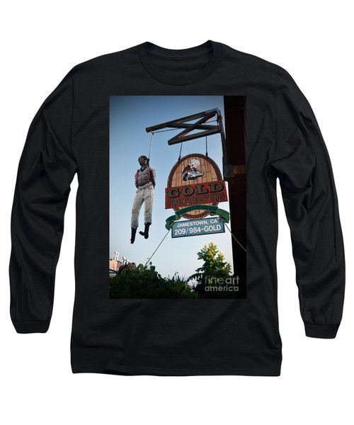 A Hanged Man In Jamestown Long Sleeve T-Shirt