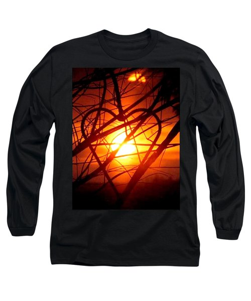 A Heart Filled With Light Long Sleeve T-Shirt
