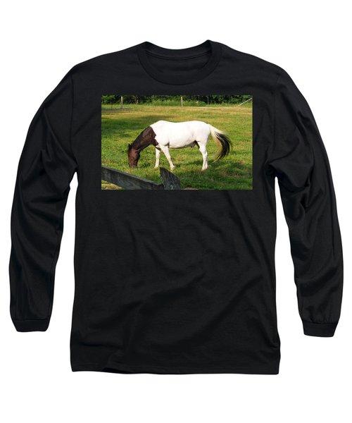 A Horse Named Dipstick Long Sleeve T-Shirt