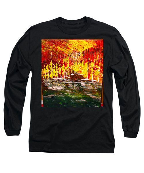 A Hot Summer Day.- Sold Long Sleeve T-Shirt by George Riney
