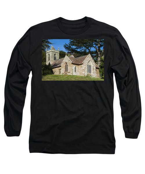 Long Sleeve T-Shirt featuring the photograph A Little Church In Warwickshire by Linsey Williams