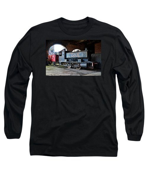 A Locomotive At The Colliery Long Sleeve T-Shirt by RicardMN Photography