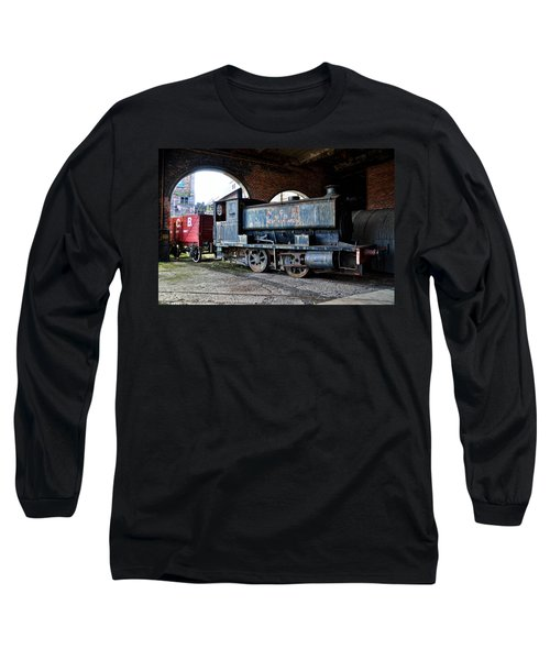 A Locomotive At The Colliery Long Sleeve T-Shirt