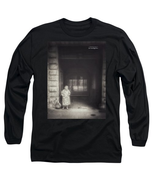 Long Sleeve T-Shirt featuring the photograph A Long Boring Wait... by Stwayne Keubrick