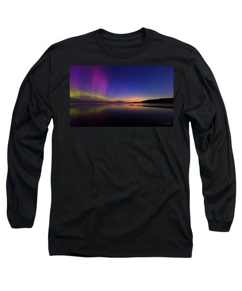 A Majestic Sky Long Sleeve T-Shirt by Everet Regal