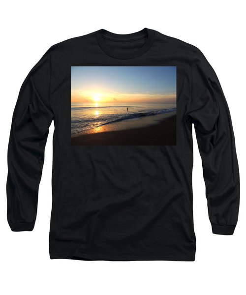 A New Day Begins Long Sleeve T-Shirt