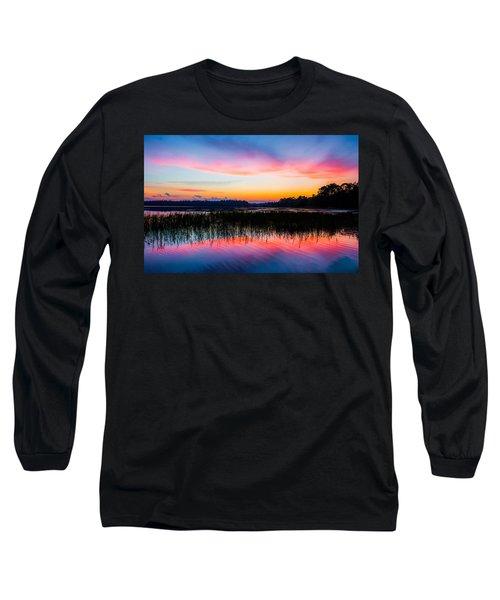 A Palette Of Colors Long Sleeve T-Shirt