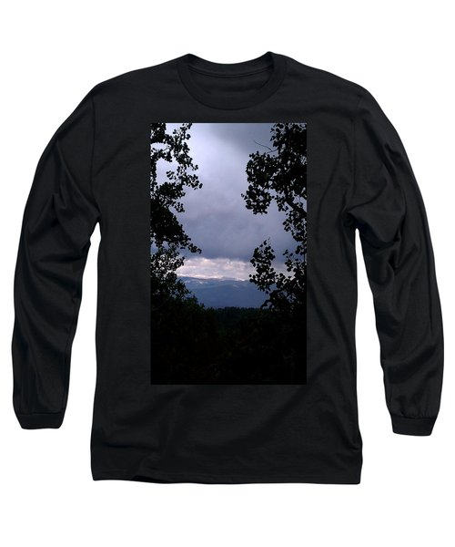 Long Sleeve T-Shirt featuring the photograph A Peek At Heaven by Fortunate Findings Shirley Dickerson