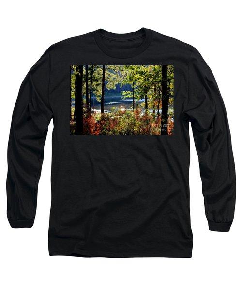 A Peek At Lake O The Pines Long Sleeve T-Shirt