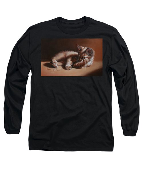 Long Sleeve T-Shirt featuring the painting A Place In The Sun by Cynthia House