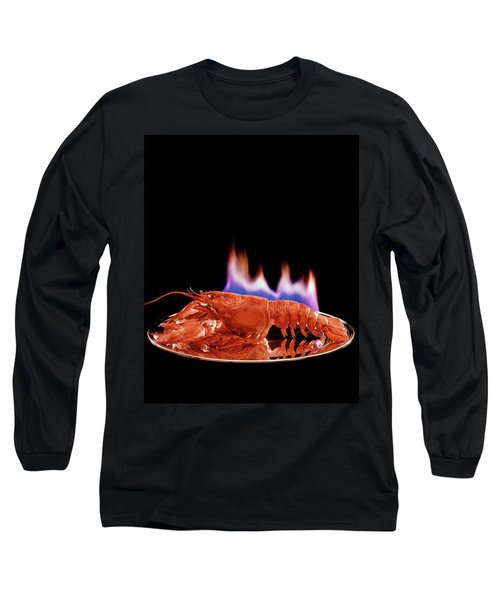 A Plate Of Lobster Flambe Long Sleeve T-Shirt