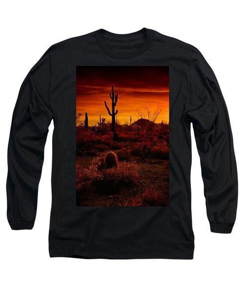 A Red Desert  Long Sleeve T-Shirt