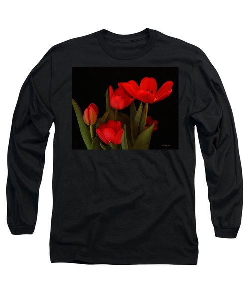 A Red Tulip Day Long Sleeve T-Shirt
