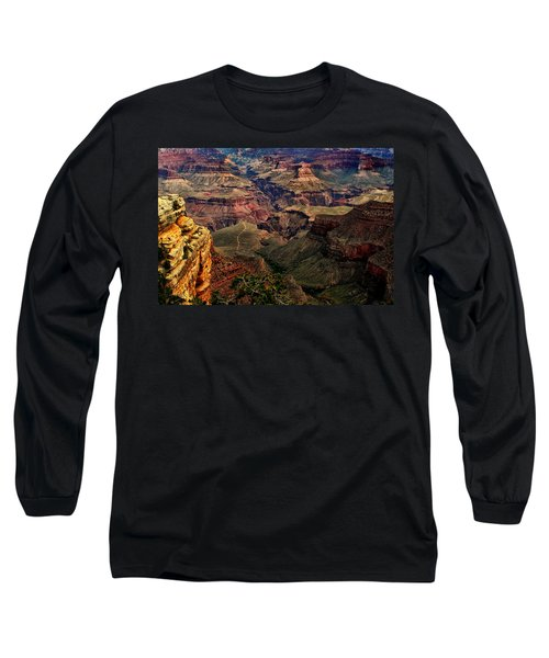 A River Runs Through It-the Grand Canyon Long Sleeve T-Shirt
