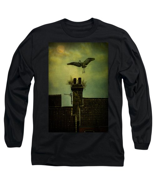 Long Sleeve T-Shirt featuring the photograph A Room For The Night by Chris Lord