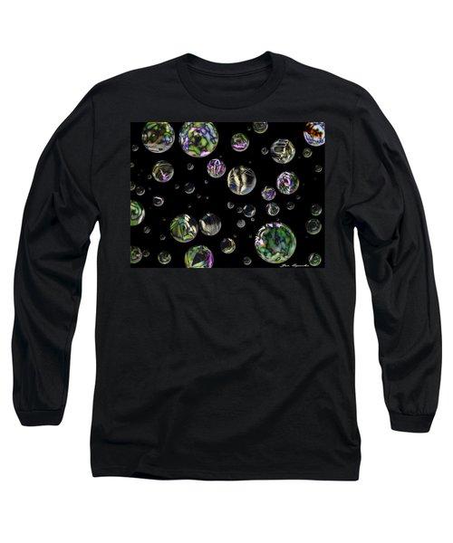 A Round Long Sleeve T-Shirt