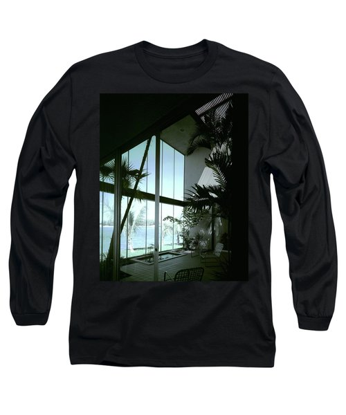A Screened Patio Long Sleeve T-Shirt