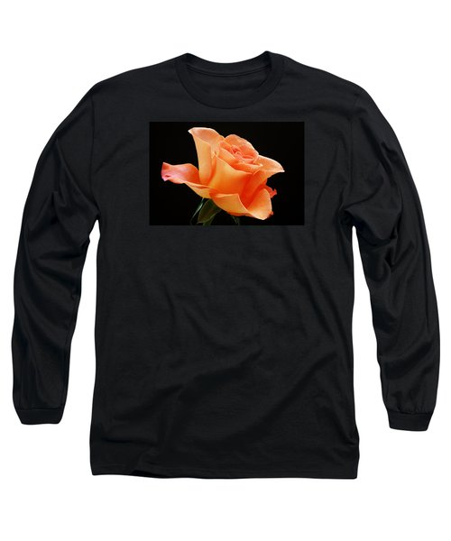 A Single Bloom 1 Long Sleeve T-Shirt by Wendy Wilton