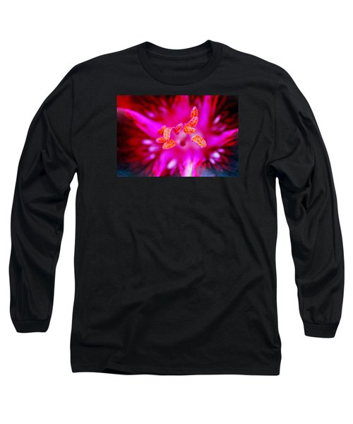 Long Sleeve T-Shirt featuring the photograph A Splash Of Colour by Wendy Wilton