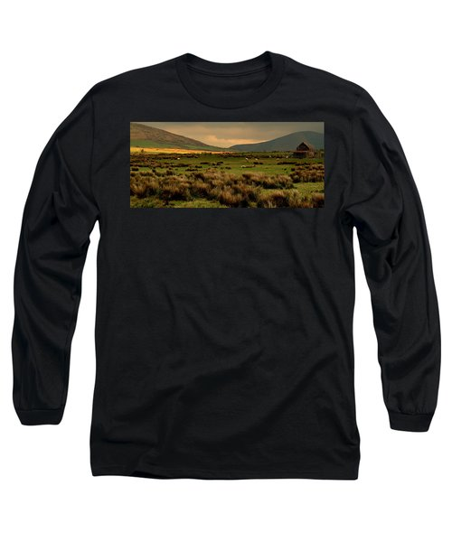 A Spot Of Sunshine Long Sleeve T-Shirt by Barbara Walsh