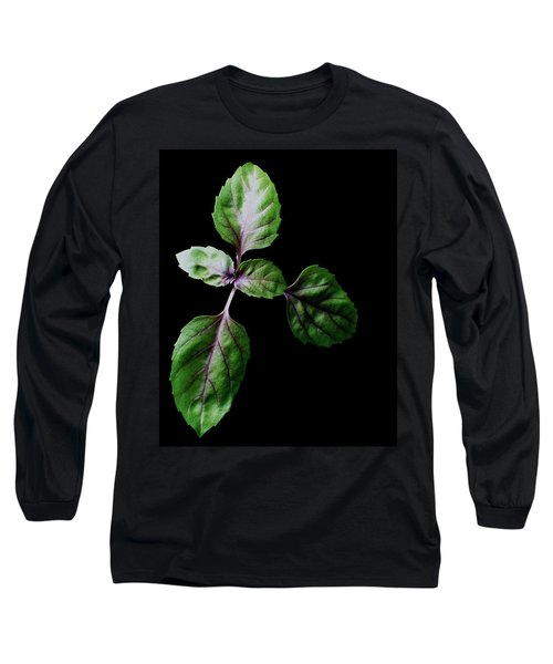 A Sprig Of Basil Long Sleeve T-Shirt