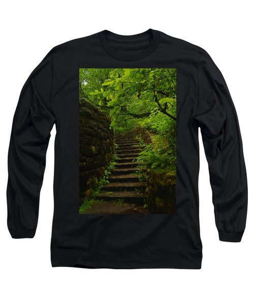A Stairway To The Green Long Sleeve T-Shirt