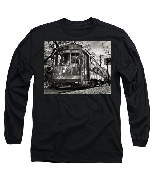 A Streetcar Named St Charles Long Sleeve T-Shirt