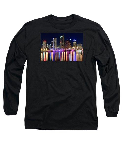 A Tampa Bay Night Long Sleeve T-Shirt