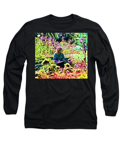 A Time To Draw Long Sleeve T-Shirt