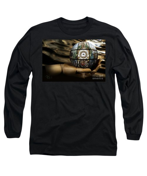 A Times Droplet Meditation Long Sleeve T-Shirt