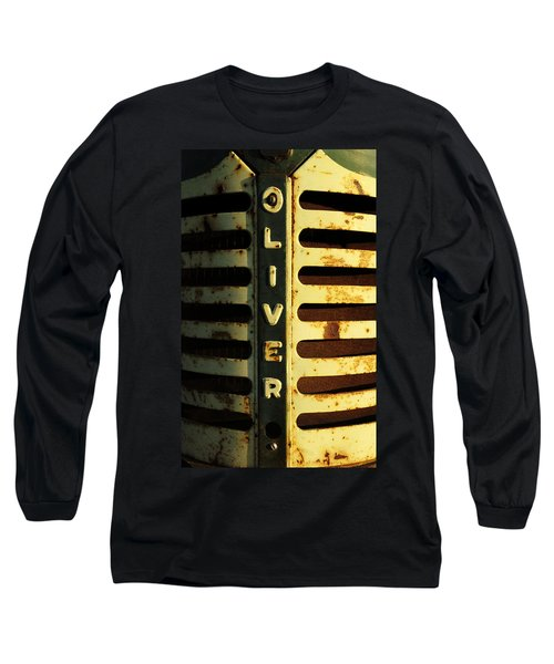 A Tractor Named Oliver Long Sleeve T-Shirt