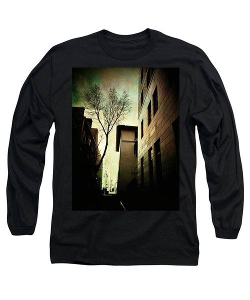 A Tree Grows In Albuquerque Long Sleeve T-Shirt by Mark David Gerson