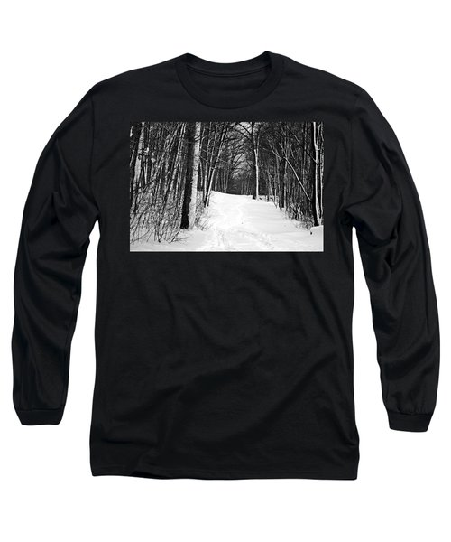 A Walk In Snow Long Sleeve T-Shirt