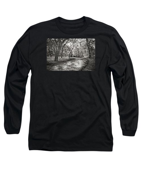 Long Sleeve T-Shirt featuring the photograph A Walk In The Park by Darryl Dalton