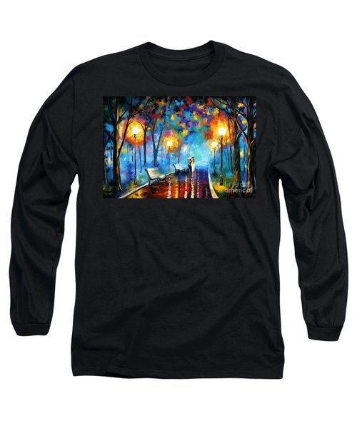 A Walk In The Park Long Sleeve T-Shirt by Tim Gilliland