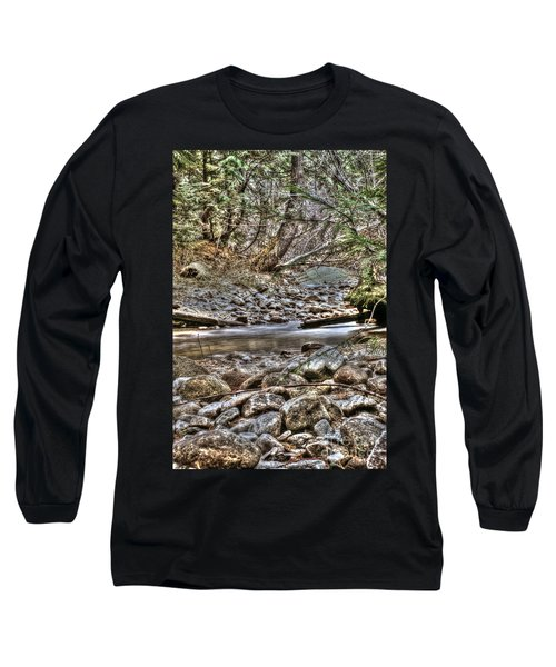 A Walk In The Woods Long Sleeve T-Shirt by Loni Collins