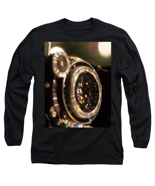 A Zeiss Christmas Long Sleeve T-Shirt by Aaron Aldrich