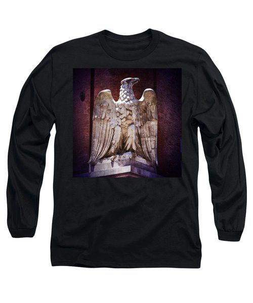 Ab Eagle St. Louis Brewery Long Sleeve T-Shirt by Greg Kluempers