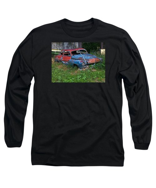 Abandoned 1950 Mercury Monteray Buick Long Sleeve T-Shirt