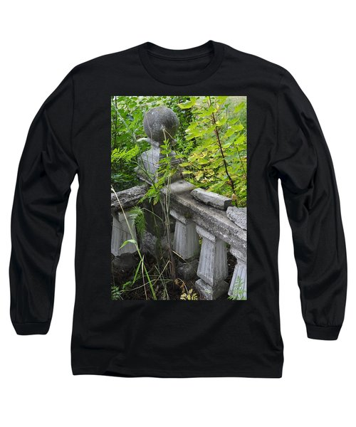 Long Sleeve T-Shirt featuring the photograph Abandoned Cemetery by Cathy Mahnke