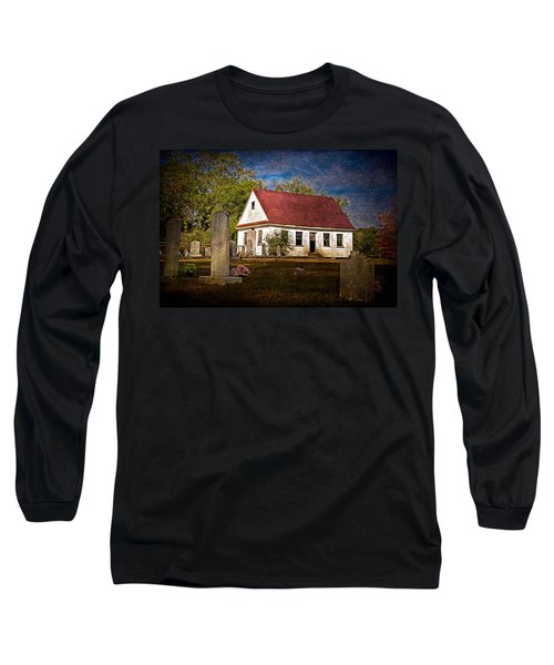 Abandoned Church And Graves Long Sleeve T-Shirt