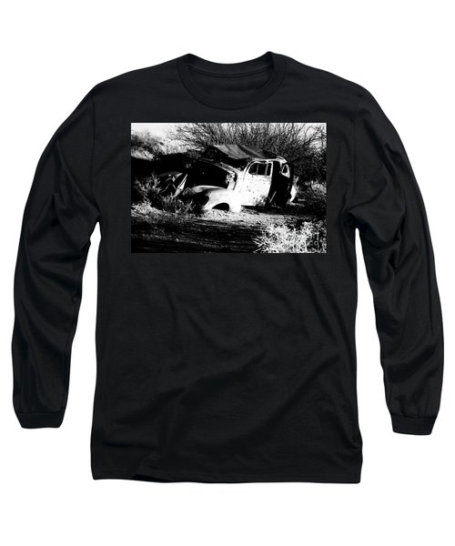 Long Sleeve T-Shirt featuring the photograph Abandoned by Jessica Shelton