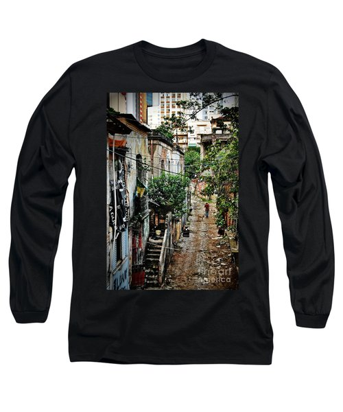 Abandoned Place In Sao Paulo Long Sleeve T-Shirt