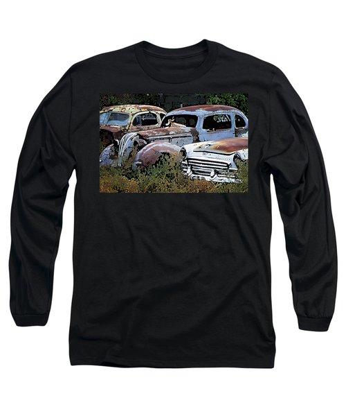 Abandoned Row Long Sleeve T-Shirt