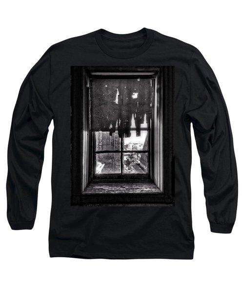 Abandoned Window Long Sleeve T-Shirt by H James Hoff