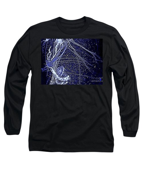 Aberration Of Jelly Fish In Rhapsody Series 3 Long Sleeve T-Shirt by Antonia Citrino